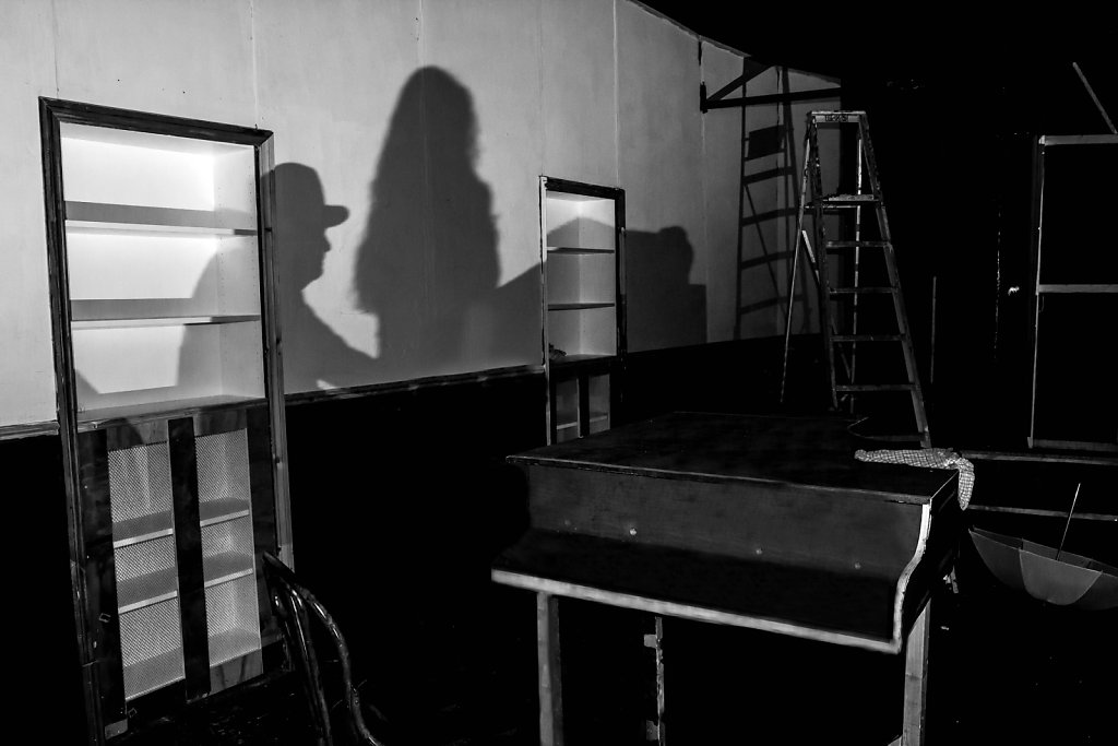 The shadow of the work